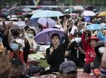 Desak PM Thailand Mundur, Ini Detik-detik Demo di Bangkok