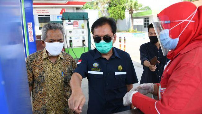 TLKM Cek Digitalisasi SPBU, Kepala BPH Migas Terjun ke Lampung
