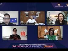 30 Inovator Digital Dipilih Jadi Pahlawan Digital UMKM 2020