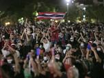 Potret Demo Thailand, Saat 30 Ribu Warga Tantang Takhta Raja