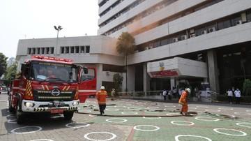 Kebakaran Di Gedung Kemensos Padam Kurang Dari 1 Jam