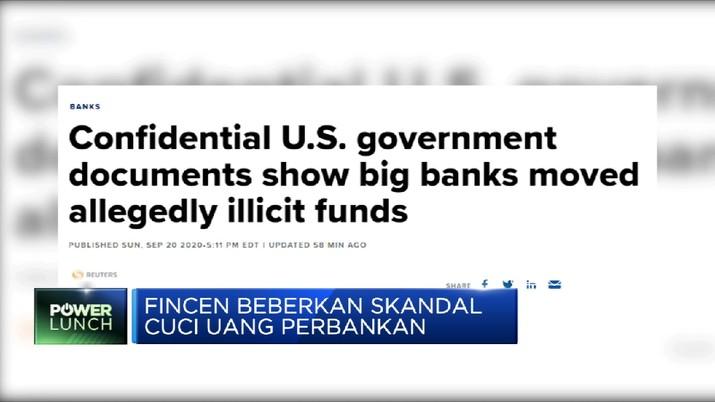 Geger! FinCEN Beberkan Skandal Cuci Uang Perbankan (CNBC Indonesia TV)