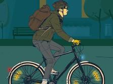 'Pesepeda Mulai Membahayakan Diri Sendiri dan Orang Lain'