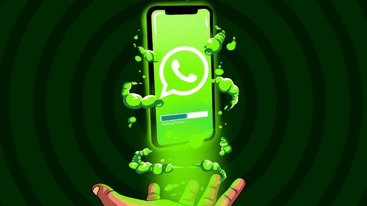 Infografis/fitur-fitur whatsapp yang akan segera hadir/Aristya Rahadian