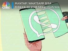Mantap! WhatsApp Bisa Dipakai di 4 HP Sekaligus Nih
