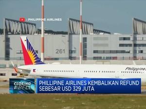 Phillipine Airlines Kembalikan Refund Sebesar USD 329 Juta