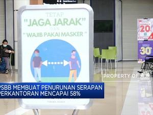 PSBB, Serapan Perkantoran & Mal di Jakarta Turun 58%
