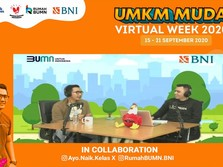 Tularkan Entrepreneurship, BNI Gelar UMKM MUDA Virtual Week