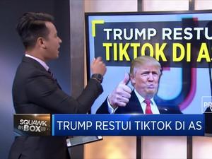 Trump Restui Tiktok di AS