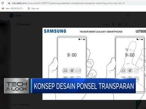 Wow! Samsung Patenkan Teknologi Desain Smartphone Transparan