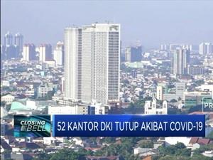52 Kantor DKI Tutup Akibat Covid-19