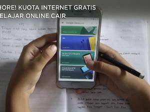 Hore! Kuota Internet Gratis Belajar Online Cair Hari Ini Gaes
