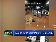 Pabrik Aqua di Sukabumi Tergenang