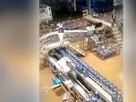 Begini Cerita Pabrik Aqua Kebanjiran, Pasokan Galon Aman?