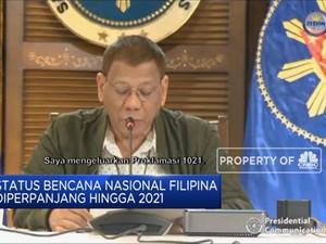 Filipina Perpanjang Status Corona Sebagai Bencana Nasional