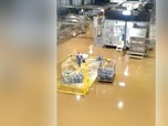 Viral! Air Keruh Rendam Lokasi Pabrik, Ini Penjelasan Aqua