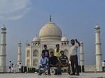 India Buka Lagi Taj Mahal, Memang Corona Sudah Reda?