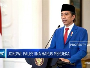 Sidang Umum PBB, Jokowi Dukung Palestina Merdeka