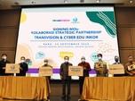 Perkuat Edukasi, Transvision Gandeng Cyber Edu Inkor