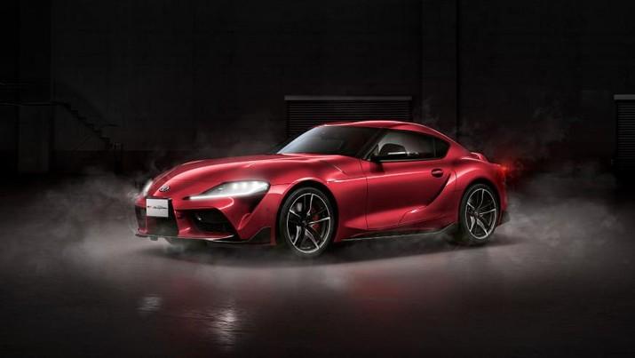 Sports Car Toyota GR Supra (Toyota)