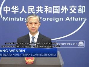 China Geram Dituduh sebagai Biang Kerok Penyebab Covid-19