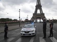 Gara-gara Lockdown, PDB Prancis Terkontraksi -8,3% di 2020