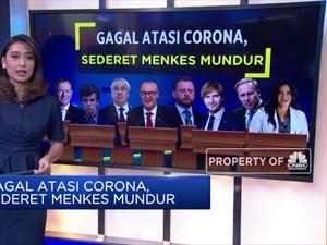 Gagal Atasi Corona, Sederet Menteri Kesehatan Ini Mundur