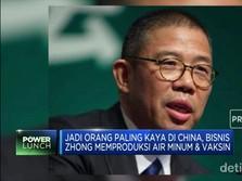 Kekayaan Zhong Shanshan Salip Jack Ma