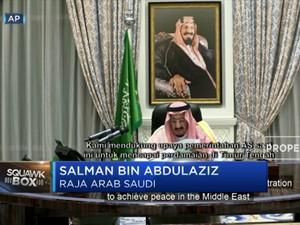 Raja Salman Dukung Upaya AS Damaikan Konflik di Timteng