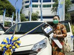 Modal Poin SMS Banking, Nasabah bank bjb Raih Mobil Sigra