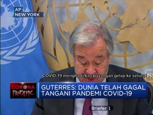 Guterres: Dunia Telah Gagal Tangani Pandemi Covid-19