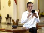 Pedagang Curhat Omzet Ambles, Jokowi: Semua Harus Disyukuri