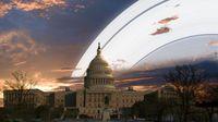 Begini Jadinya Kalau Bumi Punya Cincin Seperti Saturnus