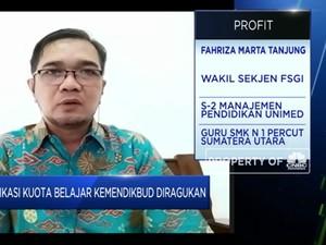 FSGI Ragukan Eksistensi Aplikasi Kuota Belajar Kemendikbud