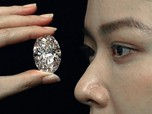Penampakan Berlian Langka Segede Telur, Harga Ratusan Miliar