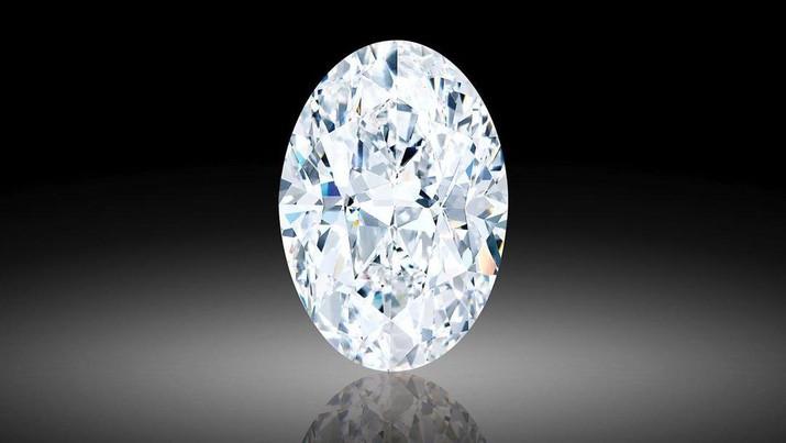 Berlian 102 Karat yang Dilelang Di Sotheby's (Tangkapan Layar Instagram @sothebys)