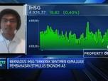 Ikuti Pergerakan Bursa AS, IHSG Tutup Sesi I di Zona Hijau