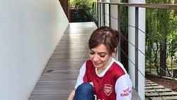 Arsenal Kalah, Najwa Shihab Tetap Setia