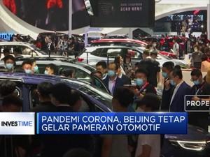 Pandemi Corona, Beijing Tetap Gelar Pameran Otomotif