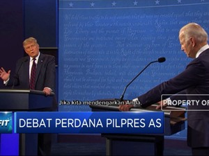 Debat Perdana, Biden Sebut Trump Tidak Becus Tangani Covid-19