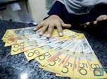 China V-Shape, Kurs Dolar Australia Ikut Melesat ke Rp 10.444