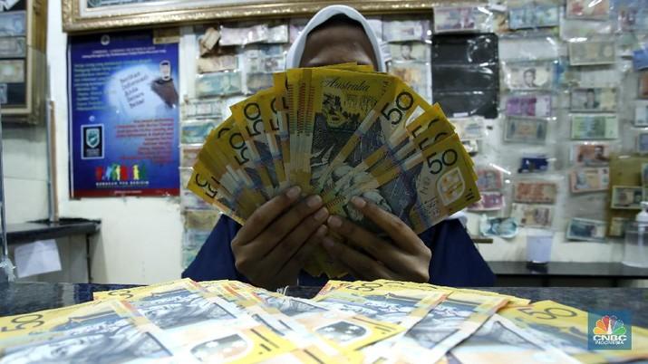 Ilustrasi dolar Australia (CNBC Indonesia/ Tri Susilo)