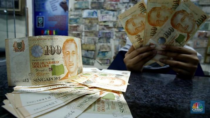 Ilustrasi dolar Singapura (CNBC Indonesia/ Tri Susilo)