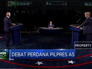 Trump Diserang Isu Pajak di Debat Perdana Pilpres AS