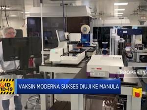 Vaksin Moderna Sukses Diuji ke Manula