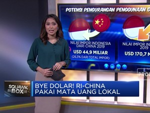 Bye Dolar! Indonesia & China Pakai Mata Uang Lokal