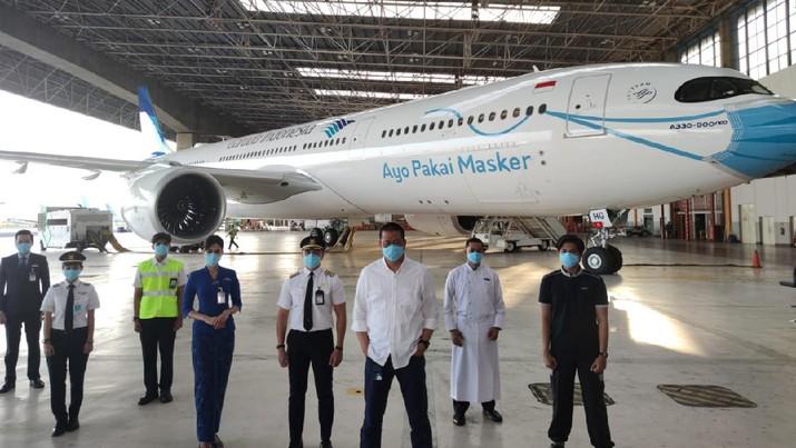 Garuda Indonesia Luncurkan Livery Pesawat