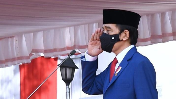 Presiden Joko Widodo Mengikuti Upacara Hari Kesaktian Pancasila (Biro Pers Sekretariat Presiden/ Rusman)