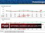 Rilis BPS, Terjadi Deflasi 0,05% di September 2020