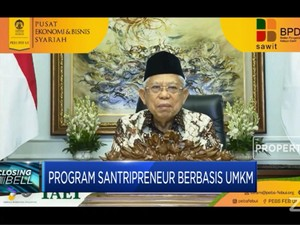 Program Santripreneur Berbasis UMKM